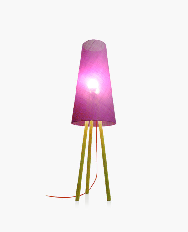 lampe décorative fuchsia